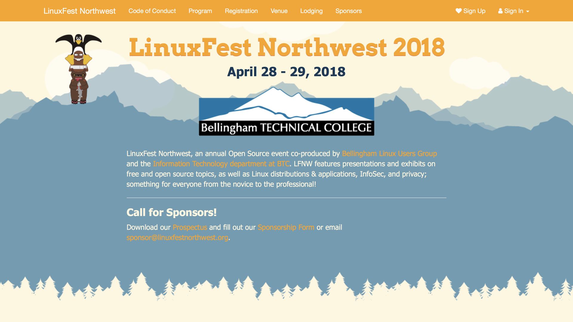 LinuxFest website